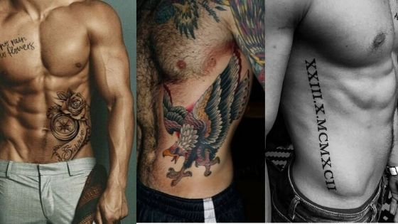 Rib Tattoos for Men
