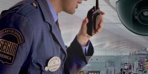 Vigilante de segur iberica uniformado