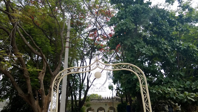 Paigah Tombs Gate Entrance