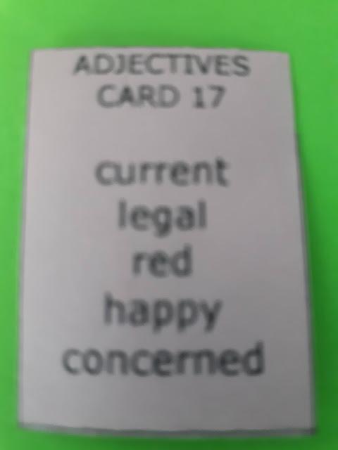 sentencemaster nouns card 5