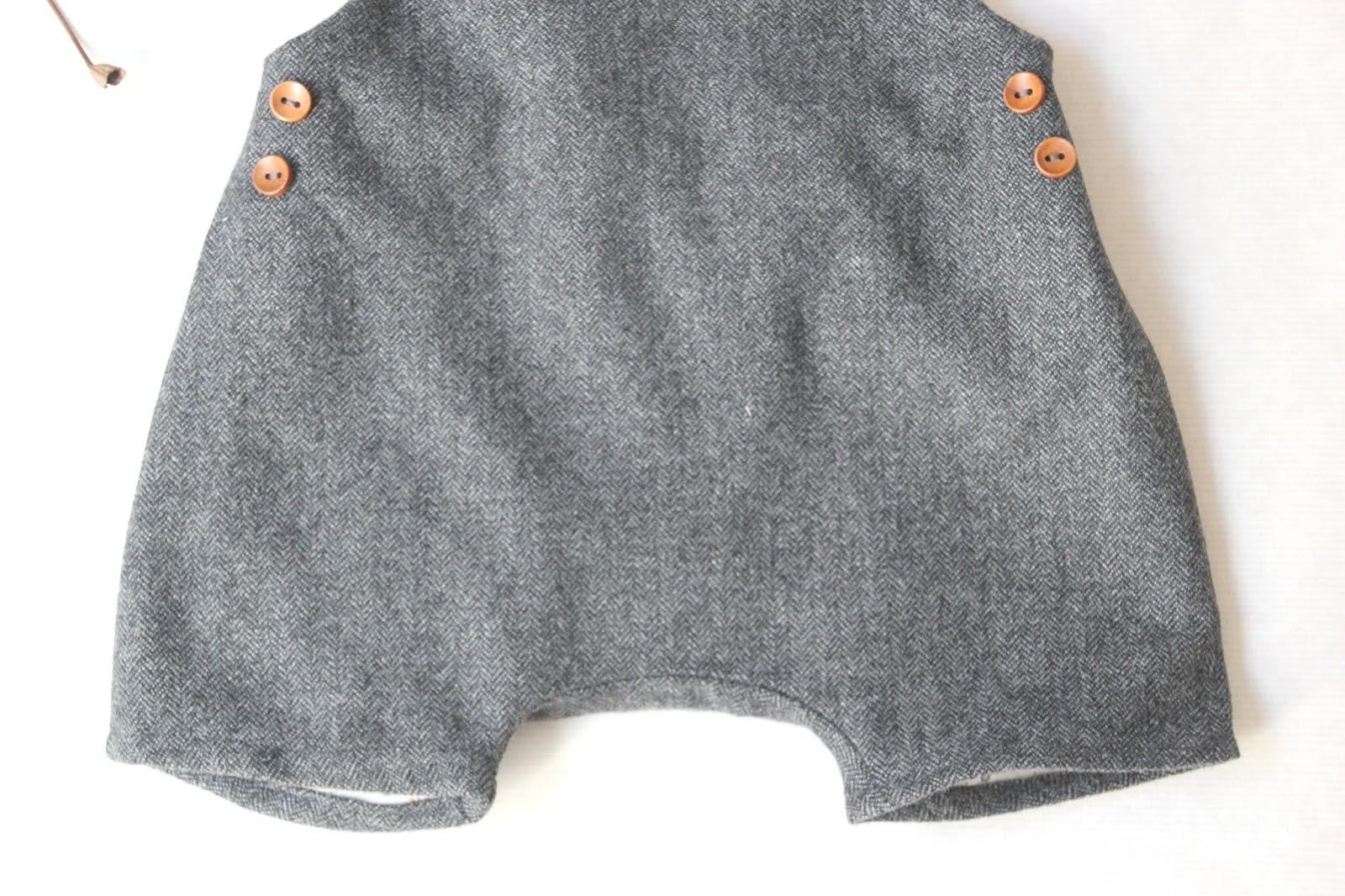 2457be260 DIY Costura ropa de bebe patrones peto ranita pelele