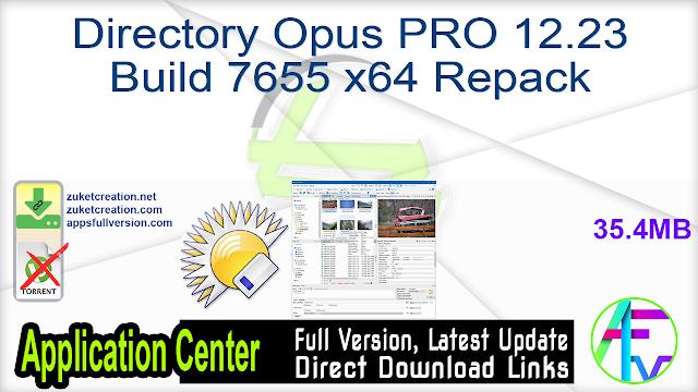 Directory Opus PRO 12.23 Build 7655 x64 Repack