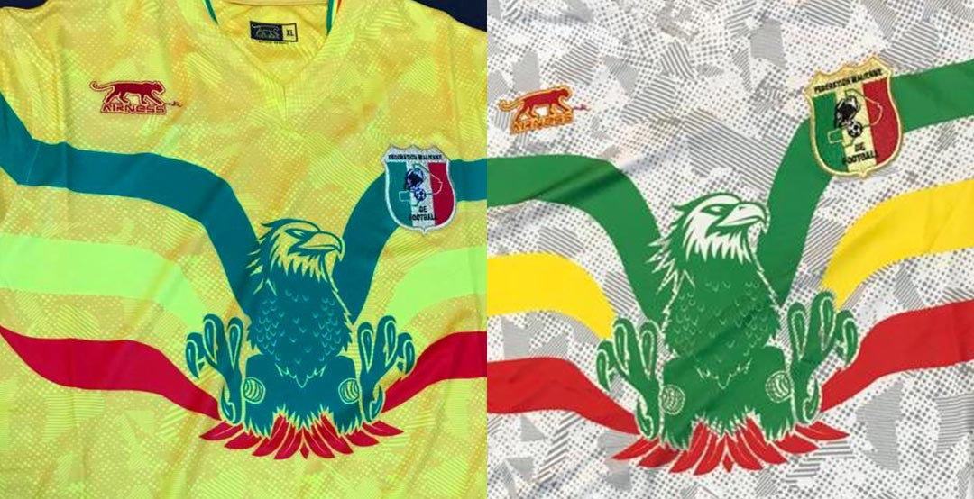 864a0dc3d0b French brand Airness have launched the new Mali kit for this summer's Africa  Cup of Nations in Egypt.