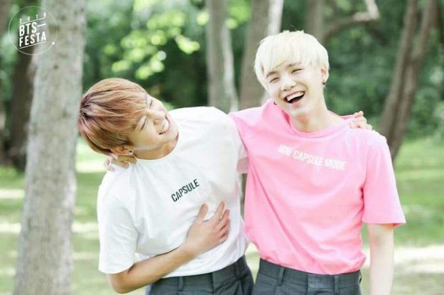 These moments clearly show how much Suga loves Jungkook's worries.