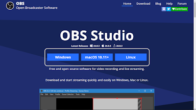 Website OBS Studio