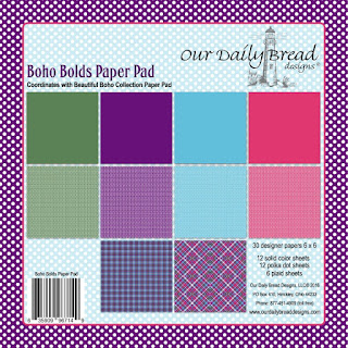 Our Daily Bread Designs Paper Collection: Boho Bolds