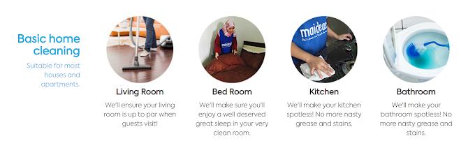 Upah Orang Cuci Rumah Dengan Maideasy