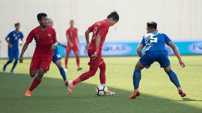 Jadwal Timnas Indonesia U-23 di Turnamen China