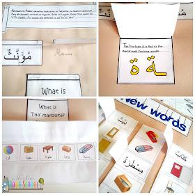 Gateway to Arabic printable scrapbook
