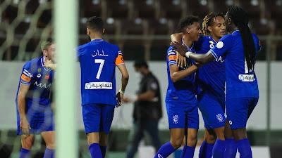 ملخص اهداف مباراة الهلال والشباب (5-1) الدوري السعودي