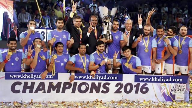 World Cup Kabaddi 2016; कबड्डी वर्ल्ड कप; भारत बनाम ईरान अंतिम; विश्व कबड्डी कप 2016; वर्ल्ड कप कबड्डी २०१६ की खास बातें; कबड्डी वर्ल्ड कप २०१९; कबड्डी वर्ल्ड कप 2018; कबड्डी वर्ल्ड कप; कबड्डी वर्ल्ड कप विनर; विश्व कबड्डी कप 2016 किसने जीता; kabaddi; world cup; indoor international kabaddi competition; international kabaddi federation; IKF; national teams; india; kabaddi world cup standard style; ahmedabad; raider ajay thakur; iran; kabaddi world; kabaddi world cup points; final match; final match scorecard