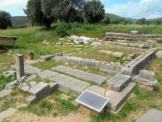 το Ιερό της Ορθίας στην Αρχαία Μεσσήνη