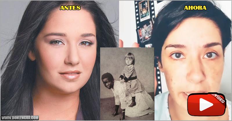 Danielita Alvarado le pide a sus seguidores que dejen la ridiculez con el racismo