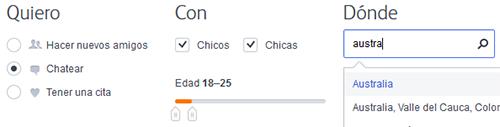 Chatea y consigue visitas de personas del país que quieras en Badoo. (actualizado al 2016).