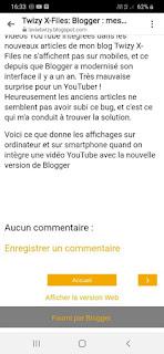 Blogger : mes vidéos ne s'affichaient plus sur mobiles mais j'ai résolu le problème !