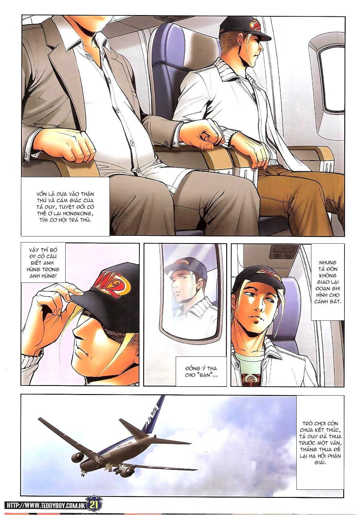 Người Trong Giang Hồ chapter 1675: diệu sát tá đôn trang 20