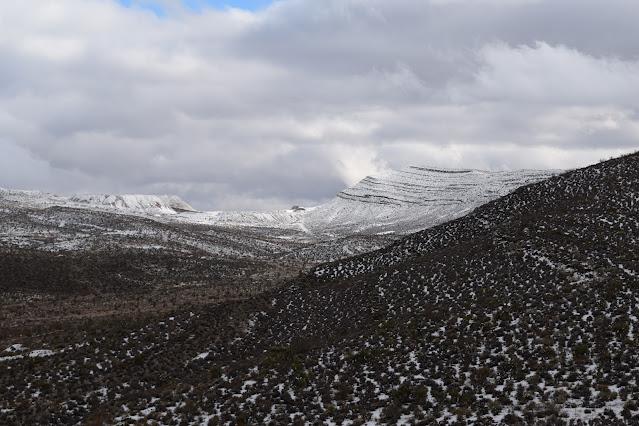 Blue Diamond Hill Las Vegas Gypsum Mine