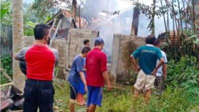 Lupa Matikan Tungku, Rumah Warga Purbalingga Terbakar