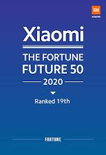 Untuk Kedua Kalinya, Xiaomi Masuk Daftar Fortune Future 50