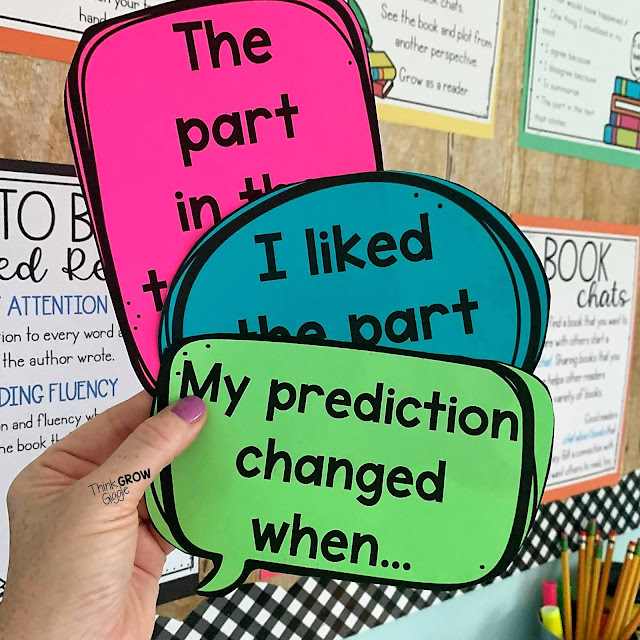 reading question stems and discussion starters