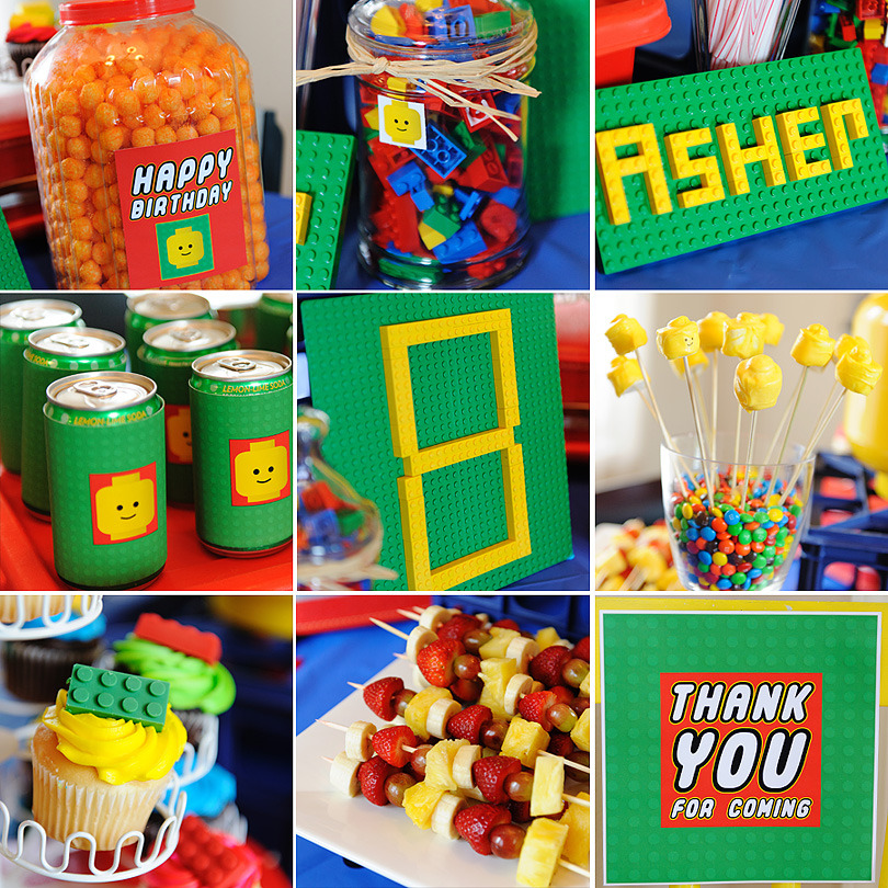 Mommy Lessons 101 Lego Birthday Party Ideas