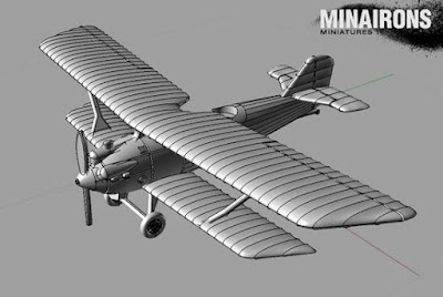1:144 Scale Breguet 19 Preview