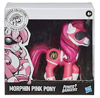 My Little Pony Crossover Collection Morphin Pink Pony Power Rangers Figure