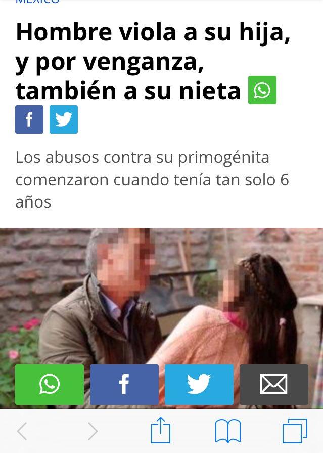 Un diario mexicano ilustró una nota sobre una violación con una foto de Macri