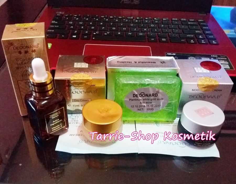 paket deoonard gold serum bleaching