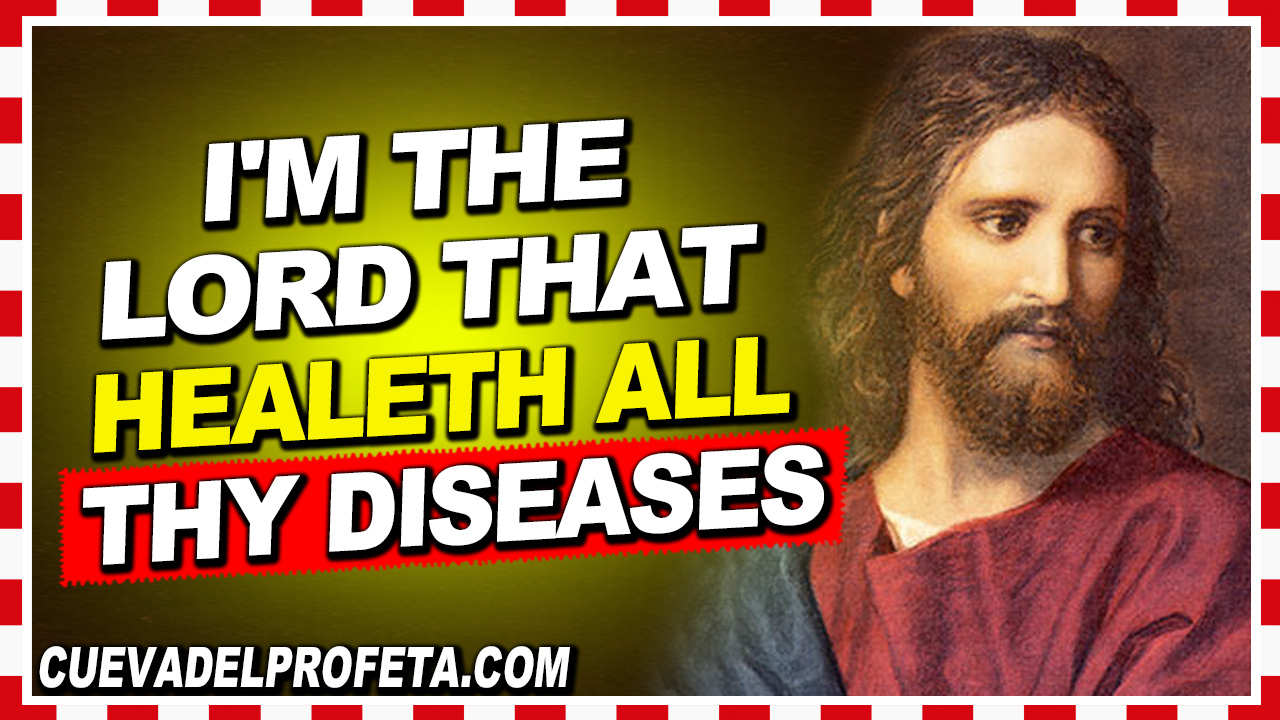 I'm the Lord that healeth all thy diseases - William Marrion Branham
