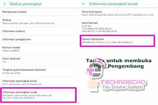 Cara Masuk Developer Options Di HP Android