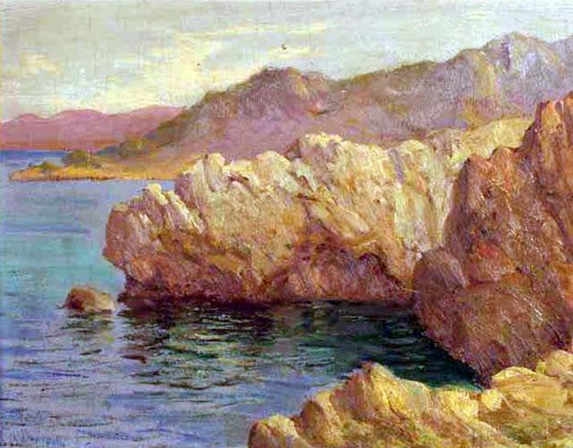 Antonio Cardona, Paisaje Mallorquín, Mallorca en Pintura, Mallorca Pintada, Paisajes de Mallorca, Paisajes de Antonio Cardona