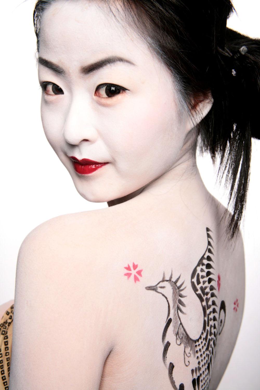 Il Profumo Di Bellazza: Geisha Makeup