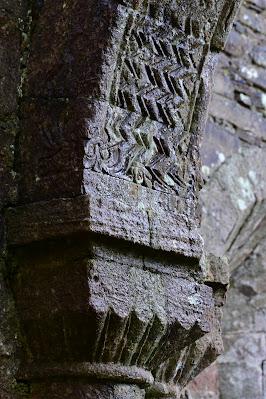 Monaincha Abbey Carvings