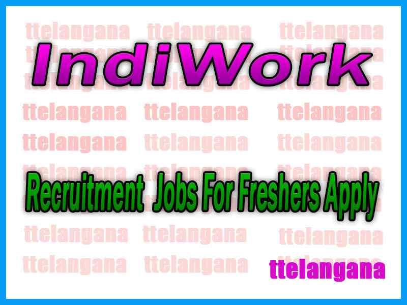 IndiWork Recruitment Jobs For Freshers Apply