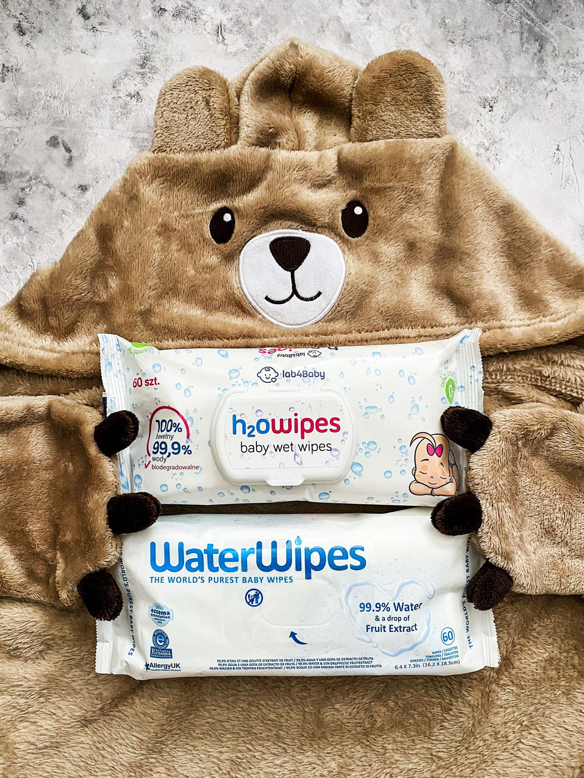 Idealny zamiennik dla chusteczek WaterWipes.