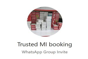 Xiaomi Booking WhatsApp Group Link Of 2018