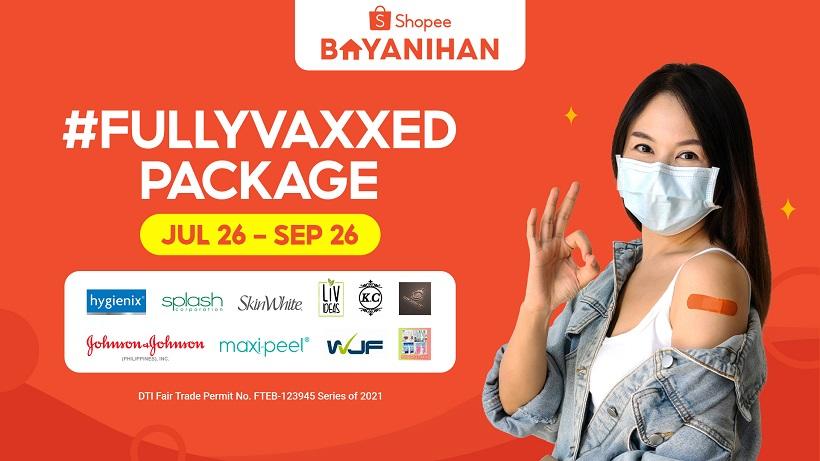 Shopee offers users FullyVaxxed Package