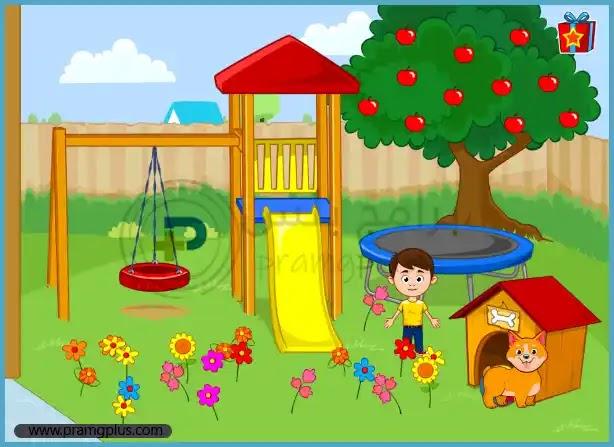 حديقة المنزل لعبة ماي تاون