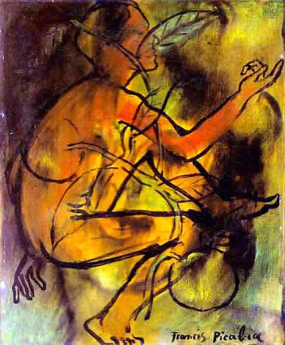 Eva - Francis Picabia e suas pinturas ~ O pintor que também era poeta