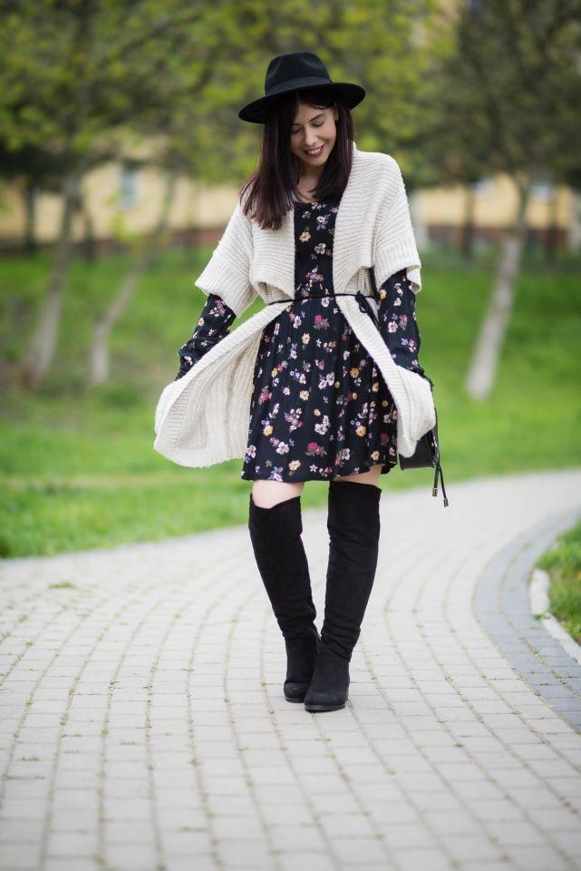 sukienka w stylu boho blog