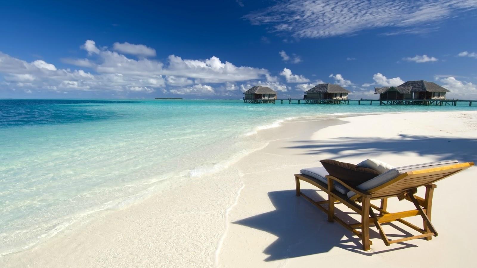 White Sandy Beach To Warm Your Days