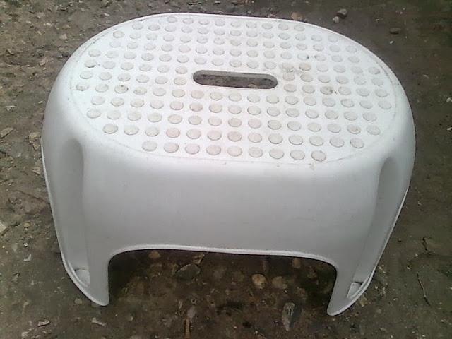 Vand scara plastic rulota