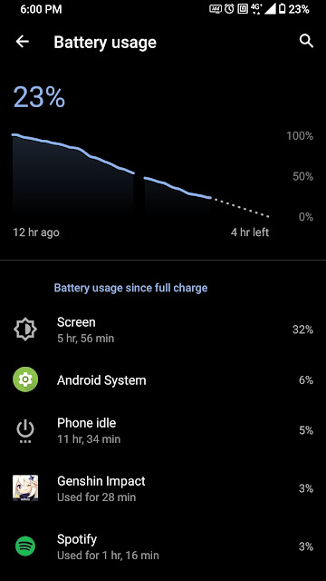 screen on time refresh rate 144 hz rog phone 3