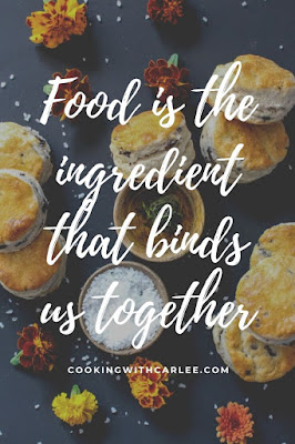 food is the ingredient that binds us together