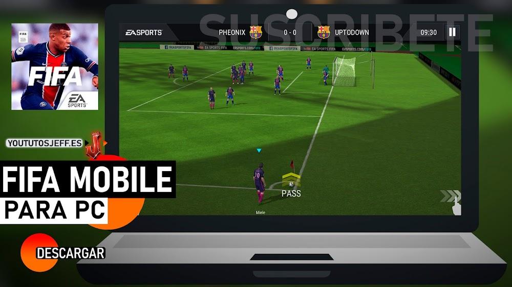 Descargar FIFA MOBILE en PC GRATIS