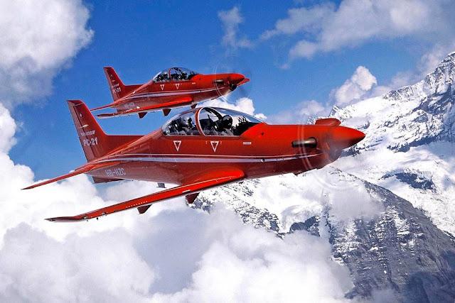 Spain buy Pilatus PC-21 trainer