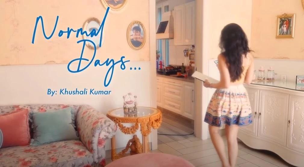 """Normal Days Mp3 & Lyrics - Khushali Kumar - Jigar Panchal, Chirag Panchal - T-Series, """"Normal Days"""" , a poem from the lockdown times. The poem is written by Khushali Kumar, the music is by Jigar Panchal, Chirag Panchal, and the poem also narrated by Khushali Kumar. The video is directed by Mohan S Vairaag., Normal Days - Khushali Kumar  - Lyrics    """"Normal Days""""  जब माँ कहती थी """"वो भी क्या दिन थे""""    पीछे जाने की ज़रूरत क्या है?  अक्सर में ये सोचती थी सुनकर     कुछ दिनों से हालात Normal नहीं हैं  मन अपने आप भाग जाता है उन दिनों   की  और , जब सब normal था    एक कप chai और glucose के buiscuit  खा कर काम पर निकलना  maa ka peeche peeche bahagkar   tiffin pakdana  'arey lunch to le jaa saath'      रस्ते में लोगों को traffic challan देने se bachne ke liye inspector se ladte dekh lagta tha police  public se kyon jhagdti hai??  mein badal gayi ya mera nazaria  par aaj  police kamal lagti hai    कहीं से कुछ भी कहते हुए दोस्त क्या लगते थे  lagatar ek hi baat par ghanton batein  ab lagta hai woh time waste nahin kiya  us connection ka maza hi kuch aur tha  googleblogg.com    जिनसे कभी hello भी नहीं हुई   आज उनका भी चेहरा जाना सा लगता है  जिनके पास घर नहीं हैं उनके भी   आँखें  ka सपना अपना सा लगता है    shayad ye kudrat hum se kuch keh rahi hai  ab thoda ruk kar sochne ko  keh rahi hai  ab tak jo hua ussey kuch seekhne ka ishara kar rahi hai  ab aane wale samay sabko haath pakad kar chalna hoga  maa shayad yehi keh rahi hai  googleblogg.com  अब अहमियत पता चली की normal  से बढ़कर कुछ और नहीं है    meri माँ ka  पहले के दिनों को सराहना  अब समझ आया क्यों ज़रूरी है?  ताकी जब सब Normal हो जाये  तो हम हर उस चीज़ को जो हमारे   मुँह पर हंसी  aur  dusron  ke chere par khushi  लाती है उसे जिएँ   uski khushi meri  hansi  tera mera na koi fasla    maa sabki sach kehti hai  .....सपने सबकी आँखों में है  unhen fir se sach karenge  बस हों जाए एक बार फिर वापस   Normal days, Title - """"Normal days"""" Poem Narrated by & Featuring  - Khushali Kumar Music - Jigar Panchal, Chirag Panchal Lyrics - Khushal"""
