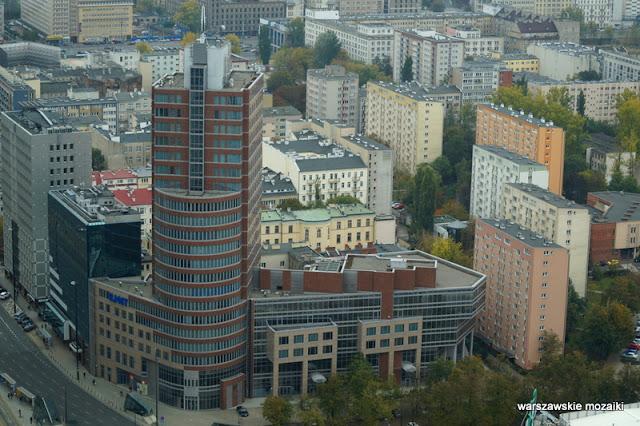 Warszawa Warsaw miasto city panorama śródmieście
