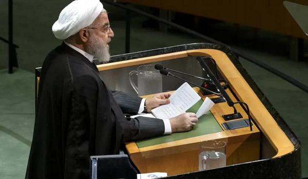 According to the latest UN summit Iran refuses any negotiations with the United States